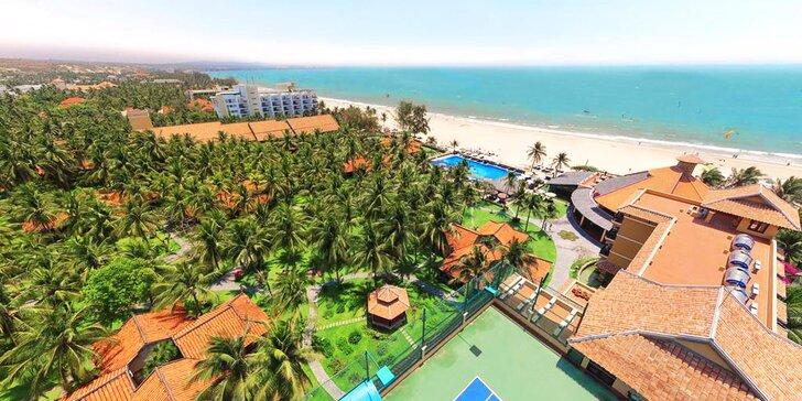 Skutečná exotika v 4* resortu ve Vietnamu: 6–12 nocí, polopenze, bazén