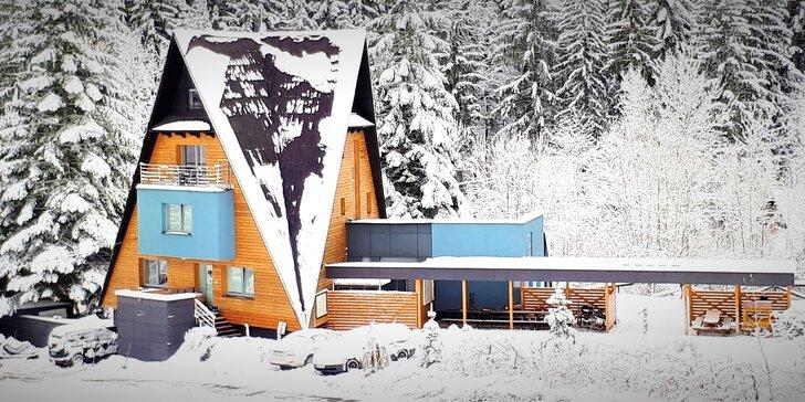 Rodinné apartmány s možností wellness a lyžařský vlek zdarma