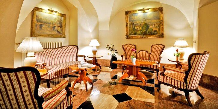 Prožijte tři dny v historickém hotelu v samém srdci Prahy.