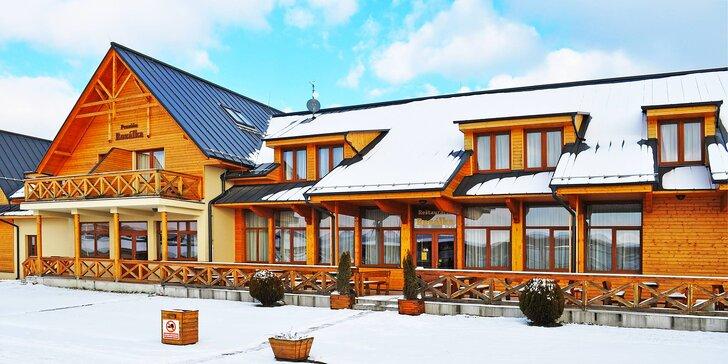 Rodinný pobyt se snídaní či polopenzí: relax na Slovensku se sportem i koníky