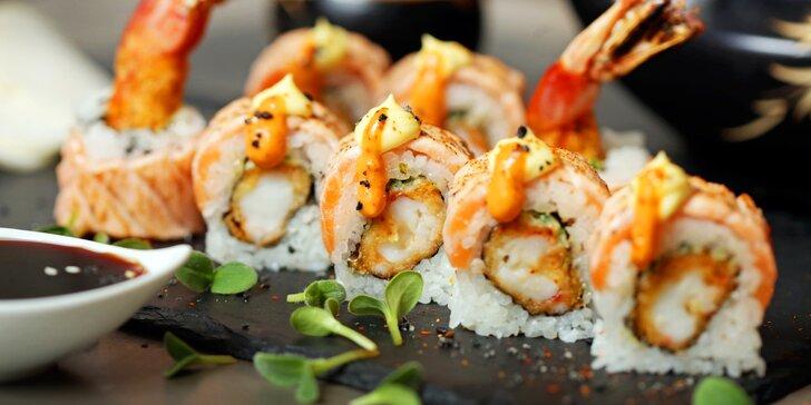 Gastronomické putování: japonské degustační menu v Café Buddha pro dva