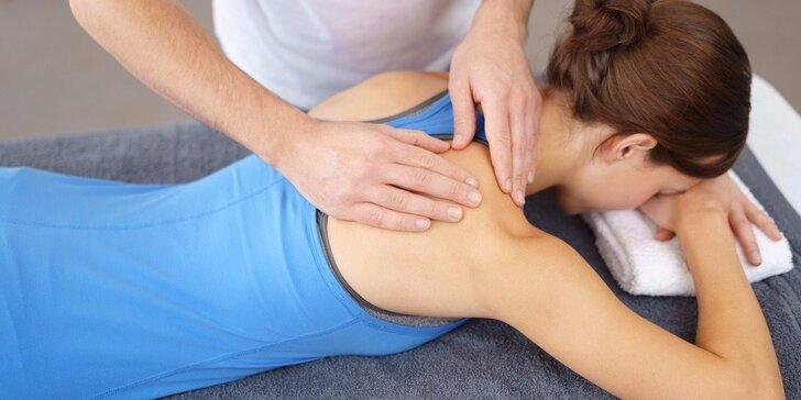 Zdravotní masáž cílená na bolesti pohybového aparátu