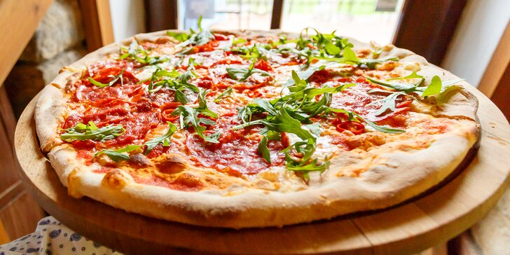 Itálie na talíři: libovolná pizza z jídelního lístku v restauraci Al Mulino
