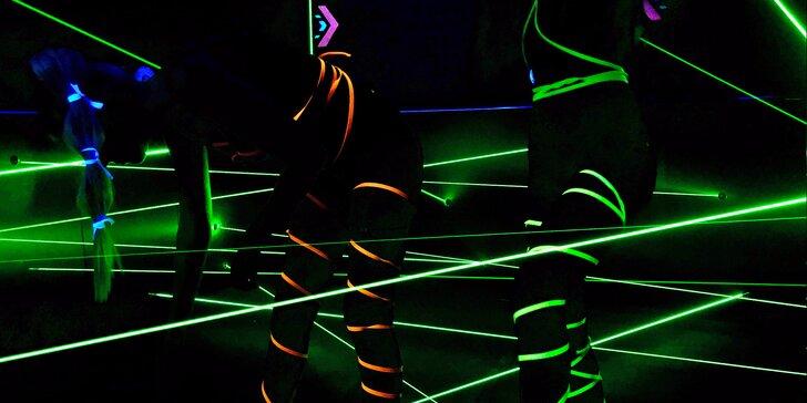 Najděte cestu ven: až 2 hry v prvním laserovém bludišti v ČR pro 1 i 2 hráče