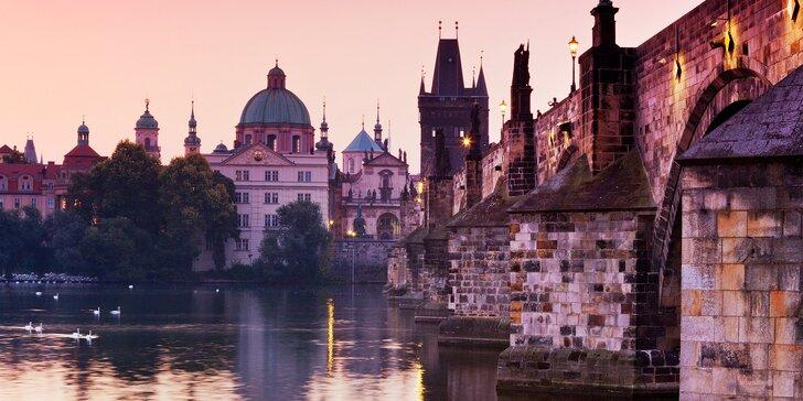 Do Prahy za kulturou: snídaně a vstupenky do Musea Kampa i MUZEA SKLA