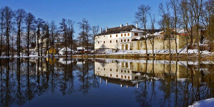 4* pobyt v historické tvrzi v Letohradu s polopenzí a hodinou ve wellness