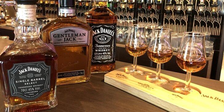 Degustace rumů a whiskey: Bandita Black, Jack Daniel's, Kraken i La Hechicera