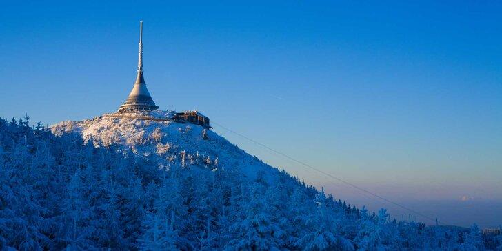 Na hory v zimě i na jaře: 3 až 5 dní s polopenzí pod Ještědem