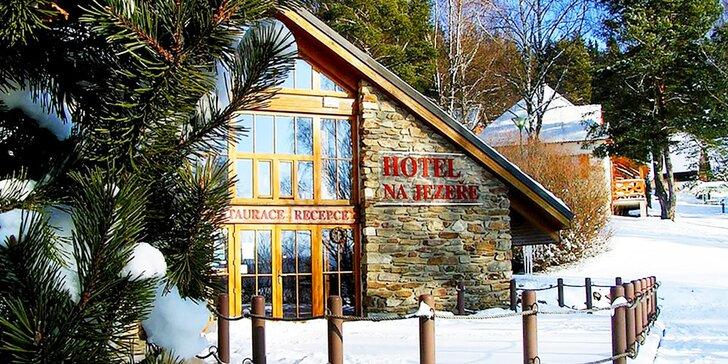 Zimní radovánky na Lipně s možností lyžování na Hochfichtu nebo Lipně