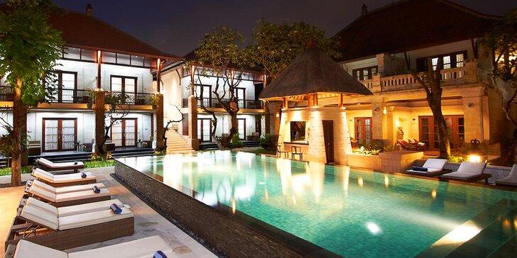 Za exotikou do 4* resortu na Bali: 6–12 nocí se snídaní, bazény, přímo u pláže