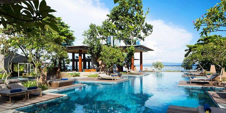 Přepychový 5* resort na Bali: 6–12 nocí, snídaně, 2 bazény, lázně a fitness