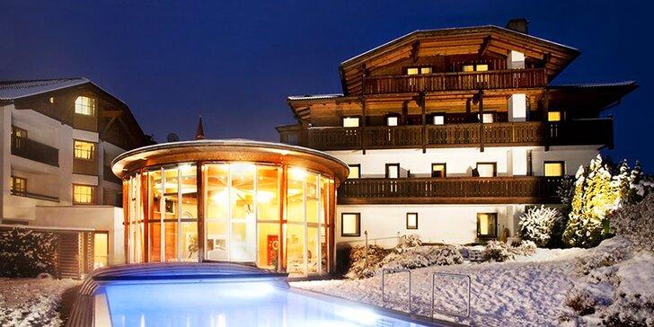 Pobyt v zasněženém Rakousku: 5 nebo 7 nocí v 3* hotelu, polopenze, bazén