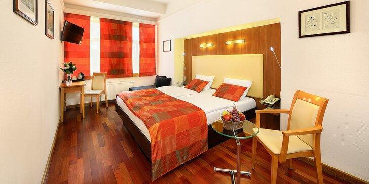 2da93b5a5 Pobyt se snídaní pro dva v centru Prahy ve 4* hotelu Ametyst***