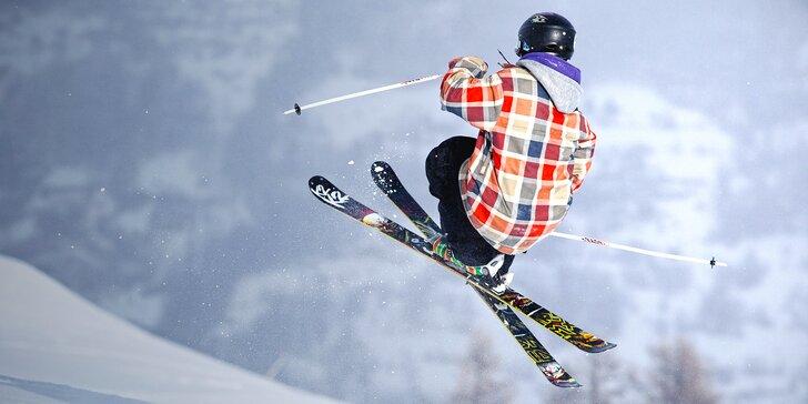 Naučte se salto za den: skok do air bagu na lyžích nebo snowboardu