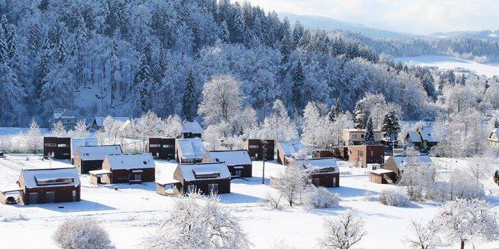 Zimní prázdniny v Beskydech: moderní apartmány či vilky pro 2 i celou rodinu
