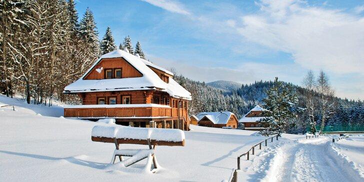 08d1e435ad9 Stylové zážitkové ubytování až pro 12 osob v dřevěné vesničce uprostřed hor