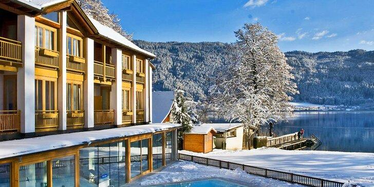 Na lyže do Rakouska: 5 nebo 7 nocí ve 4* hotelu u jezera, polopenze, wellness