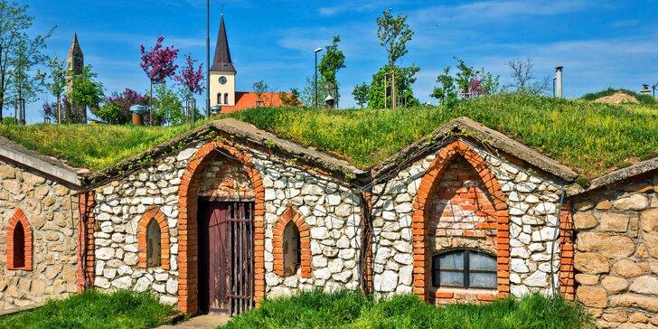 Romantický pobyt na 3 dny se snídaní a lahví vína v srdci jižní Moravy