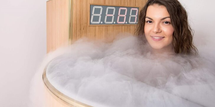 Mrazivá terapie: vyzkoušejte léčbu chladem v kryosauně