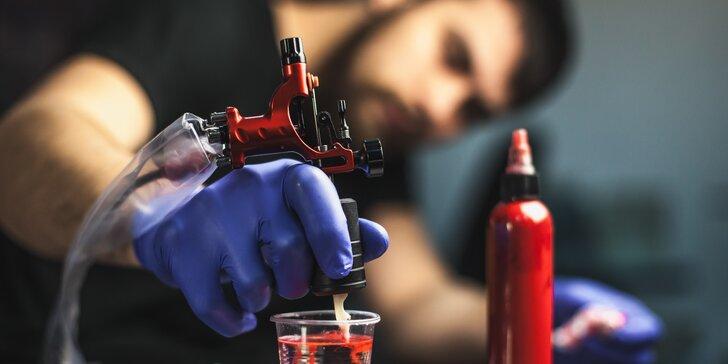 Nové tetování nebo úprava stávajícího v DA INk na Národní