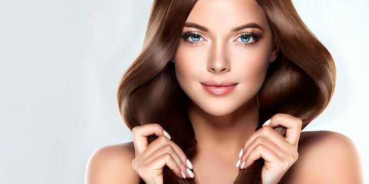 Dámský střih pro všechny délky vlasů a sleva na barvení či melír