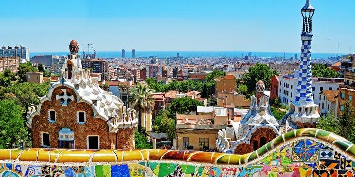 Jarní Barcelona i hora Montserrat, 2 noci v hotelu s polopenzí a průvodcem