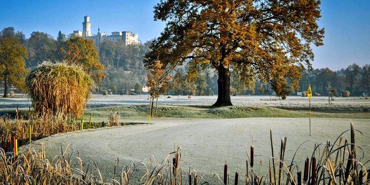 Jednodenní i dvoudenní kurz golfu v luxusním Golf&Spa Resortu Hluboká
