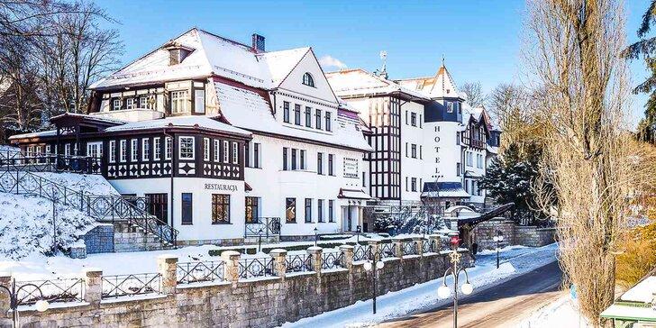 Wellness pobyt s polopenzí v historickém hotelu v centru malebných lázní