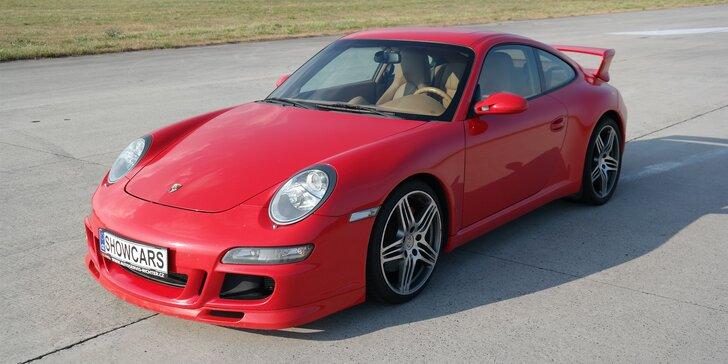 Prožeňte Porsche Carrera GT3: 2 nebo 4 kola na uzavřeném okruhu