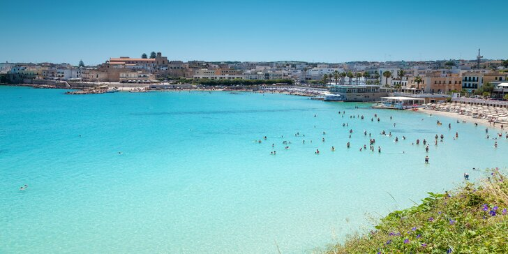 Exotická jižní Apúlie s plážemi dvou moří vč. 4x ubytování s polopenzí