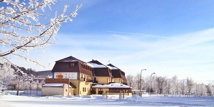 3–7denní pobyt na Lipně: polopenze, varianty i s lyžováním v Rakousku