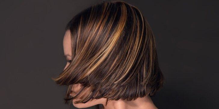Nový střih a melírem pro všechny délky vlasů
