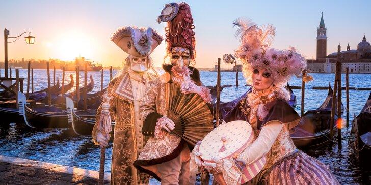 Proslulý karneval v romantických Benátkách vč. ubytování na 1 noc se snídaní