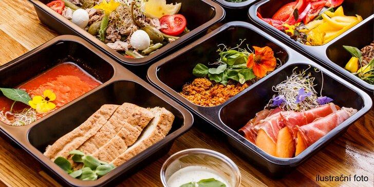 Krabičková dieta: zkušební na 1 den i 6denní vyvážené menu pro muže i ženy