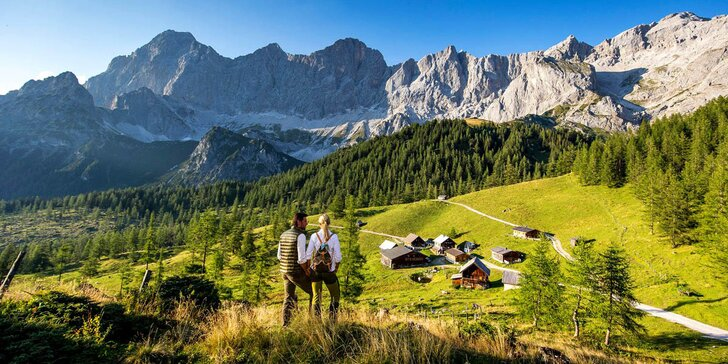 Za túrami k Dachsteinu: pobyt v Rakousku se snídaněmi a kartou výhod