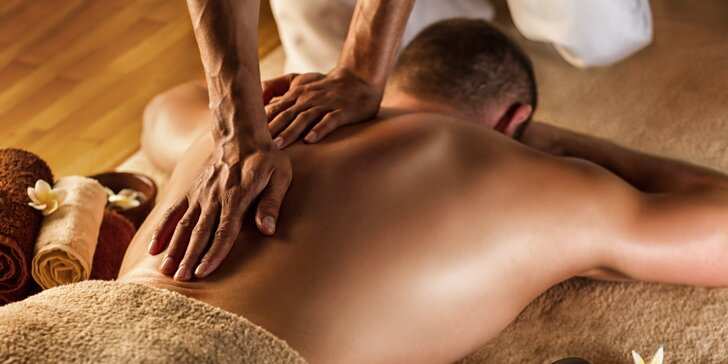 Tantra masáž pro muže vč. prostaty: 1 nebo 2 hodiny