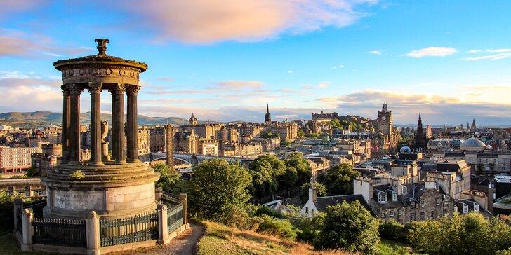 Skotsko a skotská vysočina letecky: 4 noci v 2–3* hotelu i služby průvodce