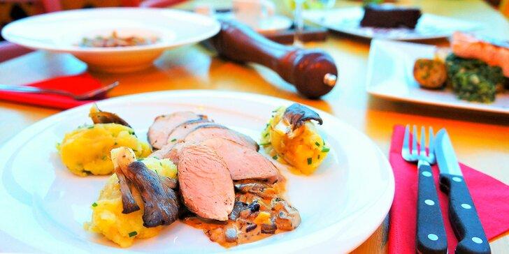 Oslavte Valentýna večeří: menu s panenskou svíčkovou a lososem