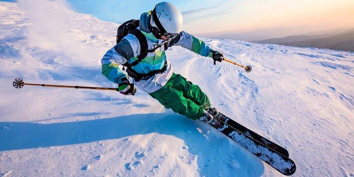 Naučte se řezat oblouky: privátní carvingový kurz pro pokročilé lyžaře
