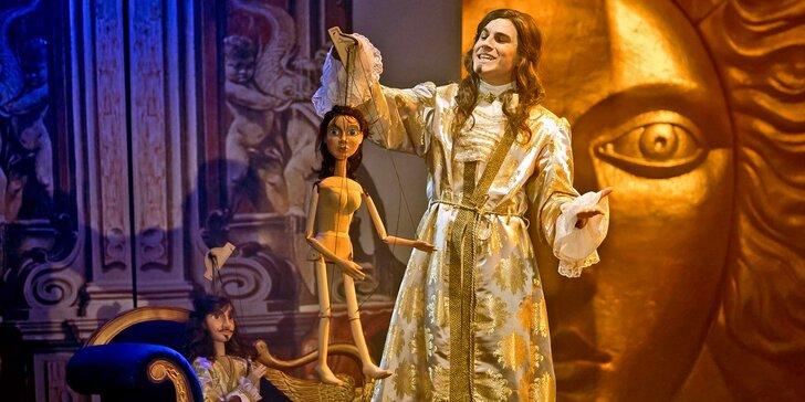 Vstupenka na muzikál Muž se železnou maskou v Divadle Broadway
