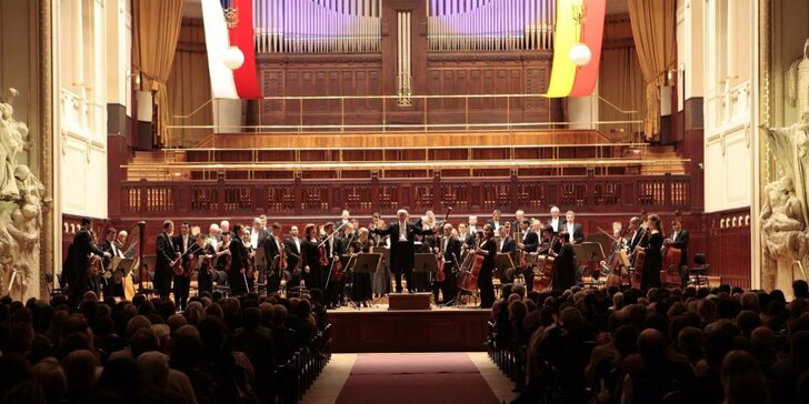 Smetana, Brahms, Mahler, Dvořák ve Smetanově síni Obecního domu