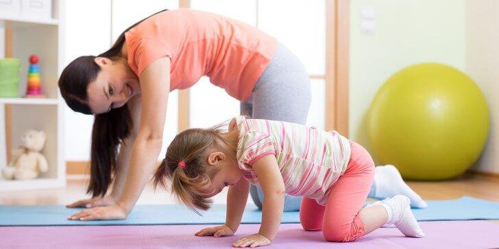 10 lekcí relaxačního cvičení pro rodiče s dětmi ve věku od 1 do 2,5 let