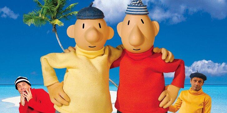 Vstupenka na pohádku Pat a Mat jedou na dovolenou v Divadle Bez zábradlí
