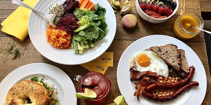 Dobré ráno: káva a snídaně podle výběru ve vinohradské cukrárně Ollies