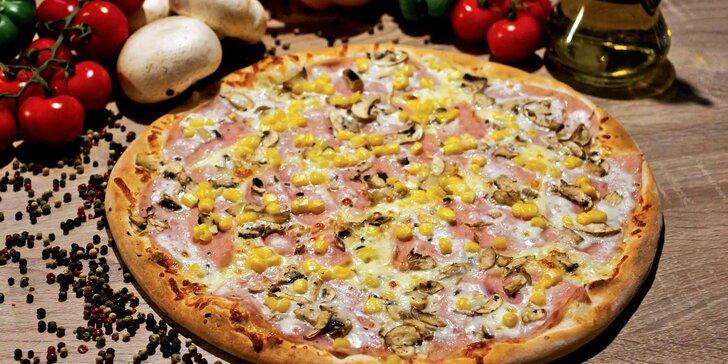 Pořádně se najezte: pizza z IL Mondo i varianta s rozvozem a Coca-Colou