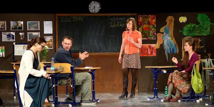 Vstupenky na divadelní představení Úča musí pryč v divadle Mana