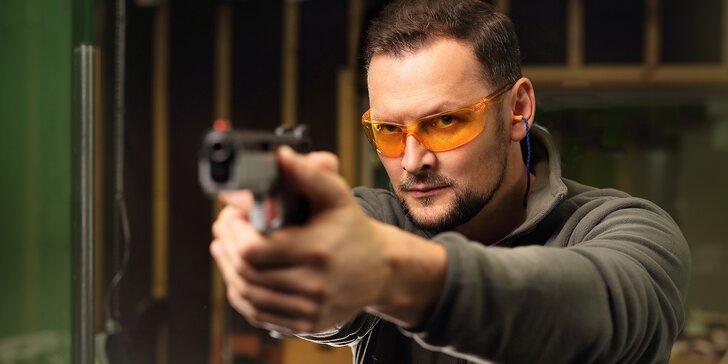 11 balíčků od největšího poskytovatele zážitkové střelby pro 1 i 2 osoby