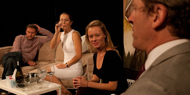 Vstupenka na divadelní představení Tři verze života v divadle Mana