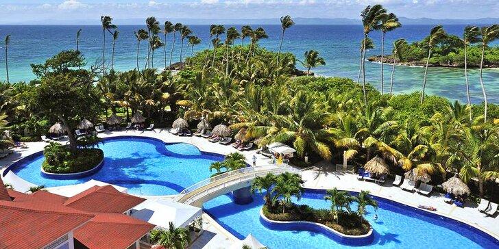 5* luxus v Dominikánské republice: 7–13 nocí, all inclusive, 2 bazény, wellness