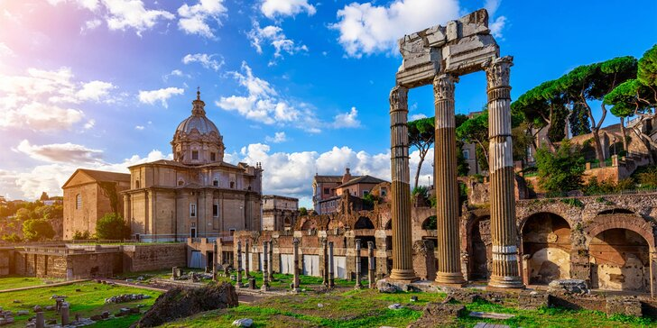 Zájezd do Říma včetně Vatikánu a koupání v moři, 2x nocleh a snídaně